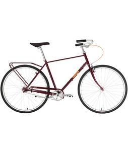 Civia Twin City Step Over Bike Red 58cm/22.75in (L)