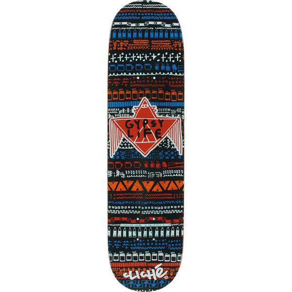 Cliche Gypsy Life Screenprinted Skateboard Deck