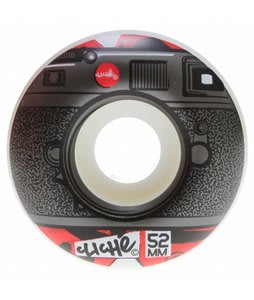 Cliche Lenses Skateboard Wheels Black/Red 52mm