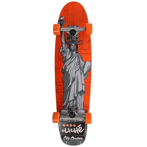 Cliche Statue Of Liberty Longboard Complete