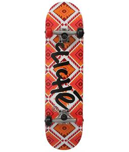 Cliche Tomahawk Skateboard Complete Orange/Red 7.8in