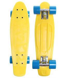Cliche Trocadero Plastic Cruiser Complete Yellow/ Cyan 22.5 x 6in