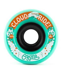Cloud Ride Ozone 80A Skateboard Wheels Blue 70mm
