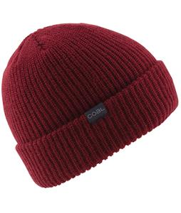 Coal Coyle Beanie Dark Red