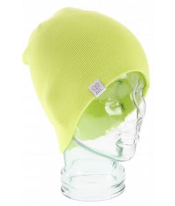 Coal FLT Beanie Fluorescent Yellow
