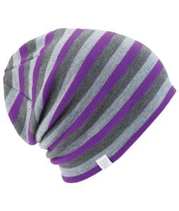 Coal FLT Stripe Beanie Purple