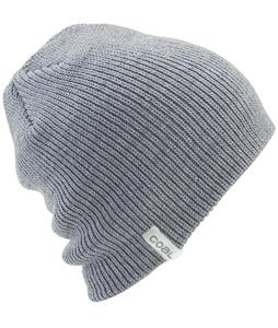 Coal Frena Solid Beanie Heather Grey