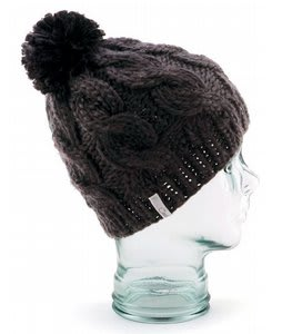 Coal Rosa Beanie Black
