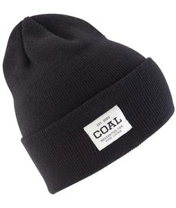 Coal Uniform Beanie Solid Black