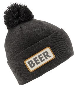 Coal Vice Beanie Heather Black (Beer)