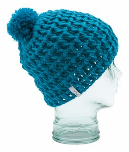 Coal Waffle Beanie Bright Turquoise