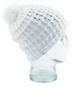 Coal Waffle Beanie White