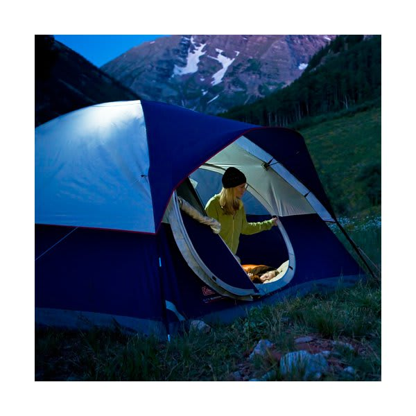 Coleman 4 Person Camping Dome Tent Equipment Gear Family Hiking