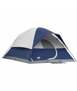 Coleman Elite Sundome 6 Person Tent Navy