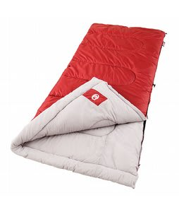 Coleman Palmetto Cool Weather Sleeping Bag Red