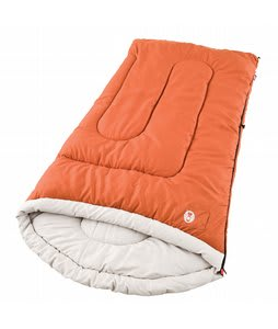 Coleman Sabine Tall Cold Weather Sleeping Bag Rust