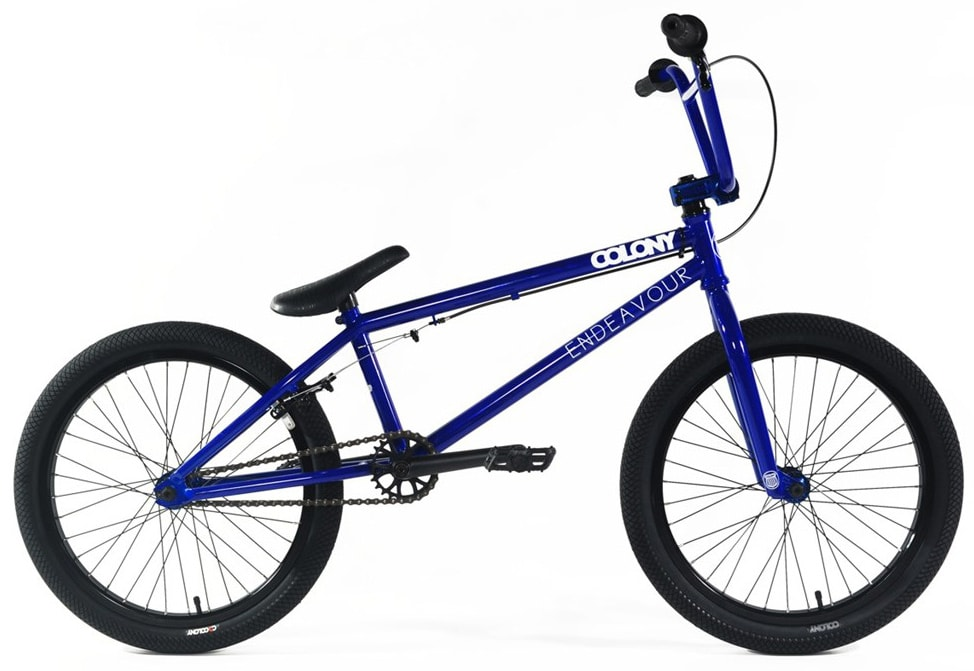 Shop for Colony Endeavour BMX Bike Rising Blue/Blue 20""