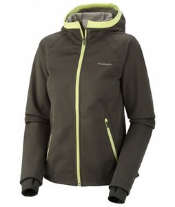 Columbia Supah Buttah Softshell Jacket Gravel/Grey Green/Neon Light