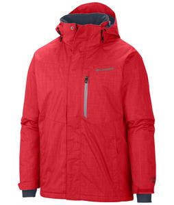 Columbia Alpine Action Ski Jacket Bright Red/Tradewinds Grey Pop