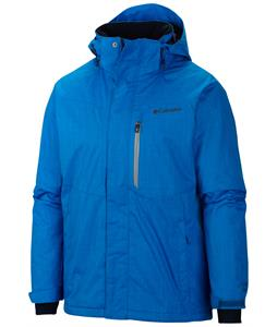 Columbia Alpine Action Ski Jacket Hyper Blue/Tradewinds Grey Pop
