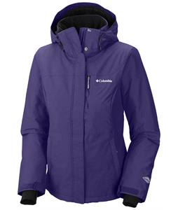 Columbia Alpine Action Ski Jacket Hyper Purple/Crossdye/inkling Zip