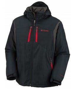 Columbia Antimony III Jacket Black/Blade/Intense Red