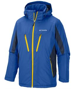 Columbia Antimony IV Ski Jacket Azul/Collegiate Navy/Bright Yellow Zip
