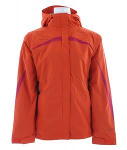 Columbia Argon Ice Jacket Autumn Orange/Coal/Rouge