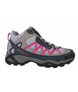 Columbia Ashlane Mid Hiking Shoes Cool Grey/Begonia