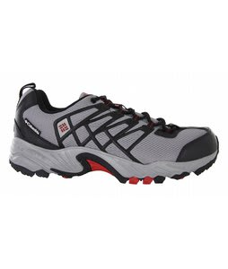 Columbia Azuric Hiking Shoes Lt Grey/Intense Red