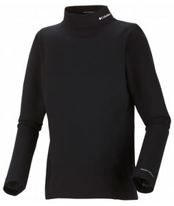 Columbia Baselayer Midweight Mock Neck L/S Top Black