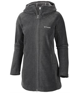Columbia Benton Springs II Long Hoodie Fleece Charcoal Heather