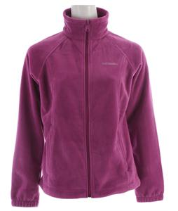 Columbia Benton Springs Full Zip Fleece Intense Violet