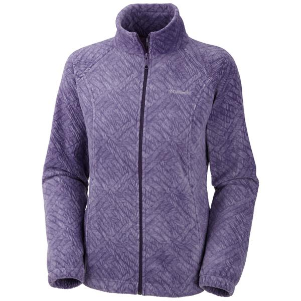 Columbia Benton Springs Print Full Zip Fleece