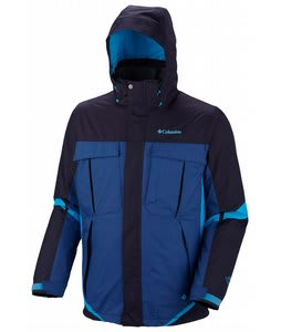 Columbia Bugaboo Interchange Jacket Ebony Blue/Royal/Compass Blue