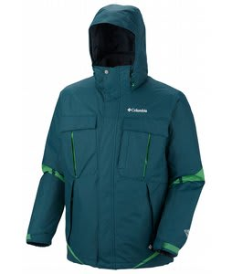 Columbia Bugaboo Interchange Jacket Blue Forest/Fuse Green