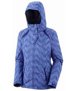 Columbia Bugaboo Interchange Jacket Light Grape Vertical Print/Aristocrat