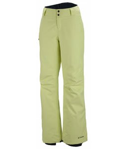Columbia Bugaboo Ski Pants Neon Light