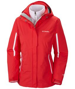 Columbia Bugaboo Ski Jacket Red Hibiscus