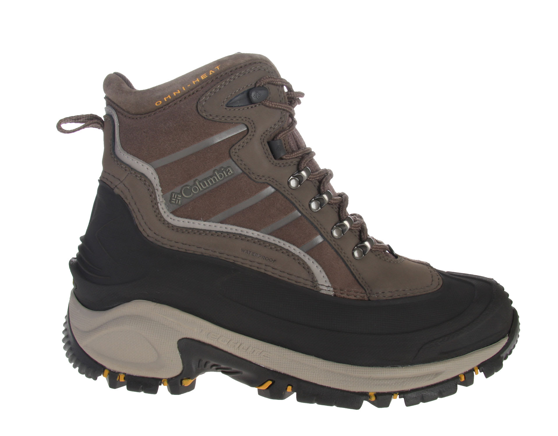 Shop for Columbia Bugaboot Omni Boots Mud/Treasure - Men's