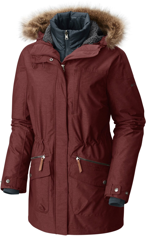 Columbia Carson Pass Interchange Jacket Womens 2018