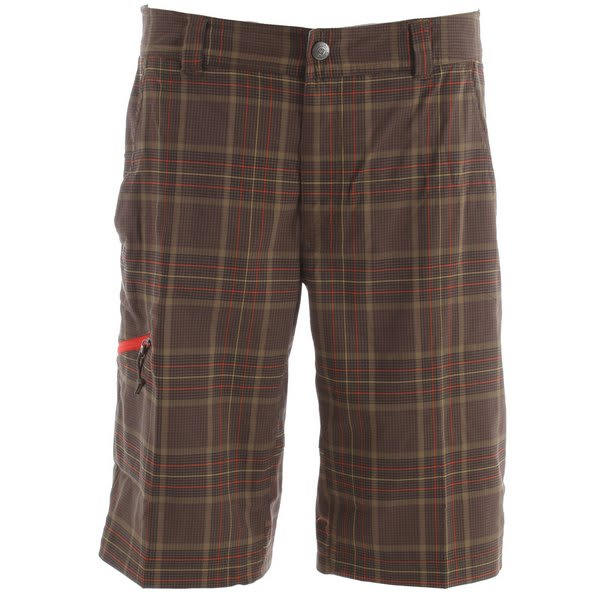 Columbia Cool Creek Stretch Plaid Shorts
