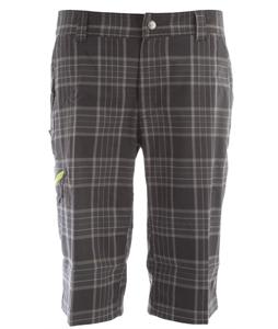 Columbia Cool Creek Stretch Plaid Hiking Shorts Grill