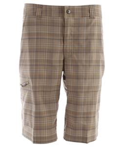 Columbia Cool Creek Stretch Plaid Hiking Shorts Tusk