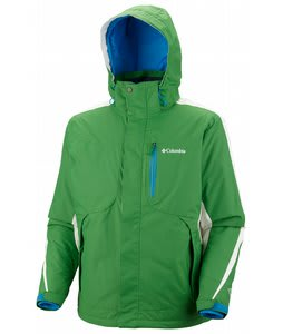Columbia Cubist 2.0 Ski Jacket Fuse Green/Sea Salt