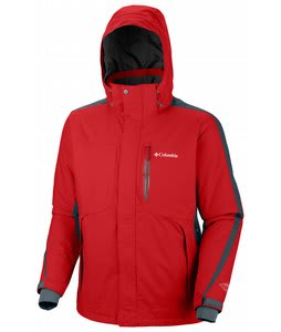 Columbia Cubist 2.0 Ski Jacket Bright Red