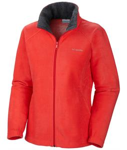 Columbia Dotswarm II Fleece Red Hibiscus/Graphite