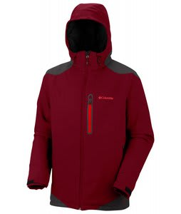 Columbia Extraction Point Jacket Red Element/Blade/Hot Rod Zips