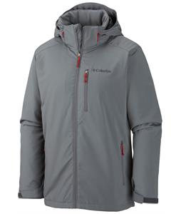 Columbia Gate Racer Softshell Graphite/Rocket Pop