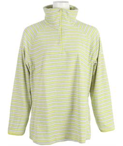Columbia Glacial III Print Half Zip Fleece Fresh Kiwi Stripe Print